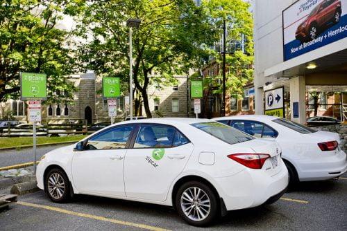 Zipcar affirme que le partage de voiture réduit le nombre de voitures sur les campus de 30%