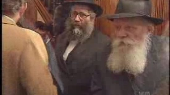 La réponse du Rabbi a été sortie de son contexte