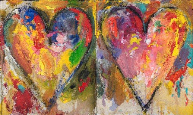 Artiste juif américain Jim Dine le parisien