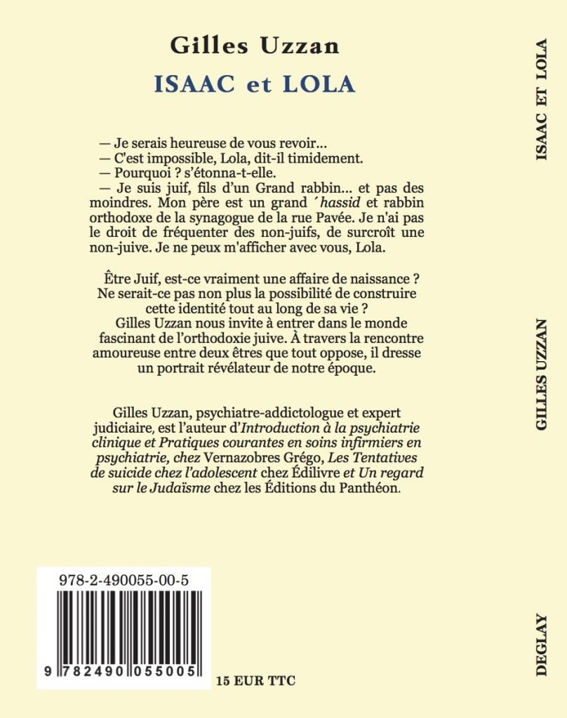 ISAAC et Lola de Gilles Uzzan