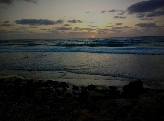 La plage de Haifa