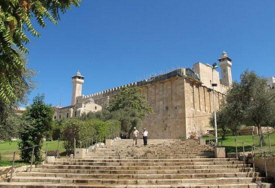Le tombeau des Patriarches à Hébron