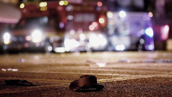Sur les lieux de l'attentat à Las Vegas