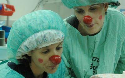"""Avec les clowns, l'hôpital ne fait """"même pas peur"""""""