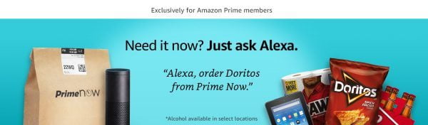 Alexa Voice Shopping
