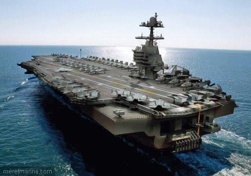 porte-avions USS Gerald R. Ford de la marine américaine