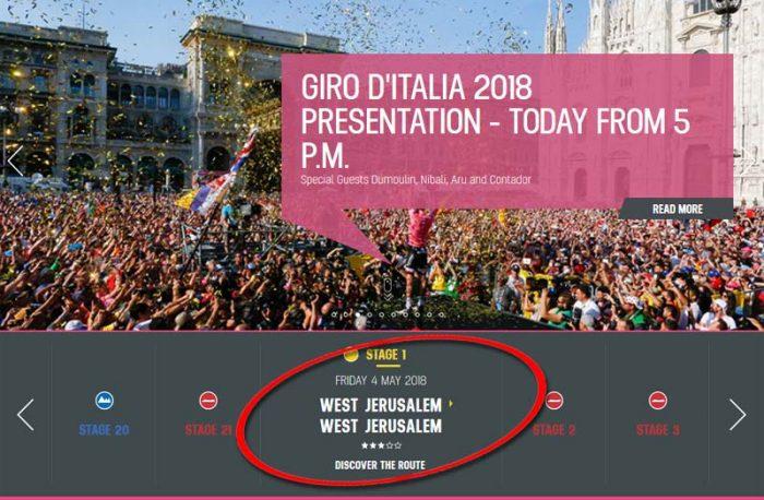 Israël : la prestigieuse course cycliste Giro d'Italia sur la sellette