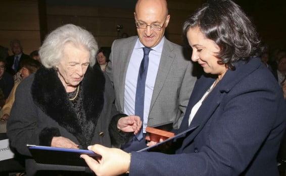 Une Grecque âgée de 106 ans reçoit le titre de Juste parmi les nations