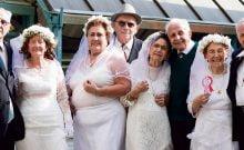 Israël: mariés depuis plus de 50 ans, ils renouvellent leur voeux