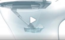 Innovation israélienne: un robot qui nettoie les toilettes