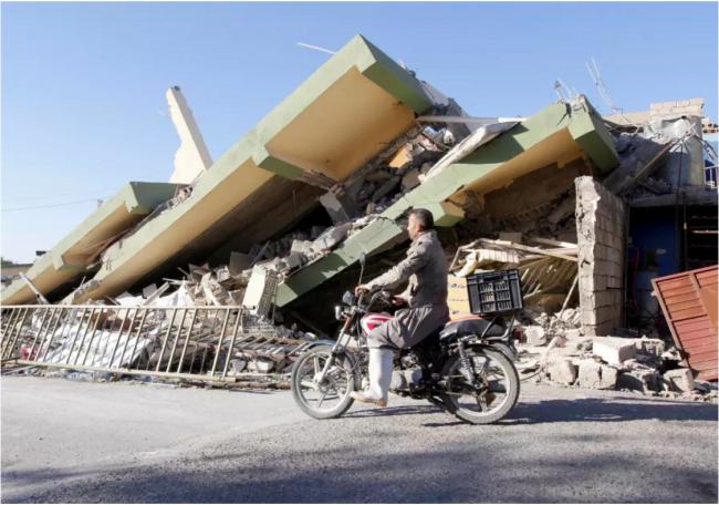 Israel n'est pas Pret pour le prochain tremblement de terre