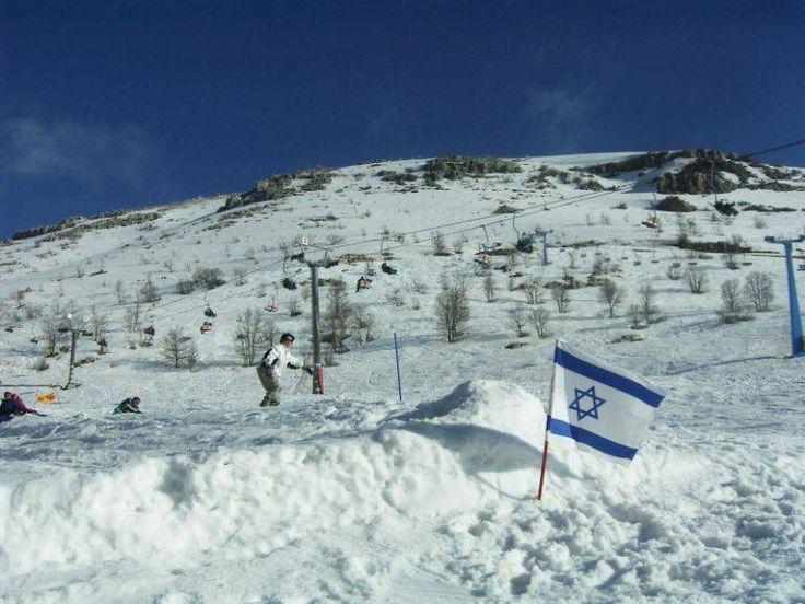 Offensive de l'armée syrienne au Mont Hermon en Israël