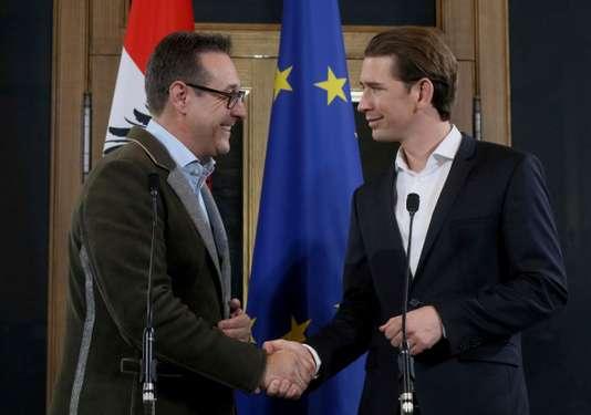 L'extrême droite est entrée hier au gouvernement autrichien