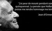 L'humour de Jean d'Ormesson