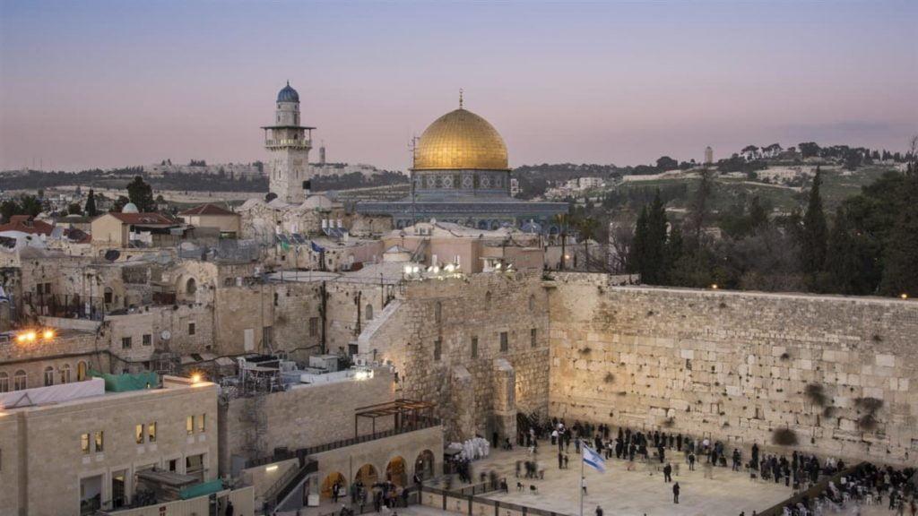 Jérusalem capitale d'Israel