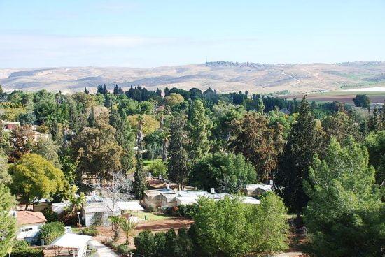 Le kibbutz Lahav