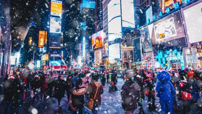 la start up Israelienne Wibbitz crée la vidéo du nouvel an à Times square