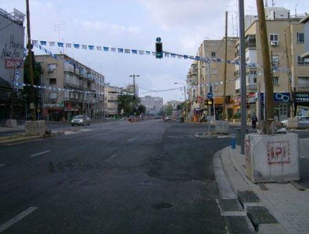La rue Ibn Gabirol à Tel Aviv