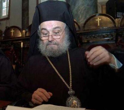 Le patriarche Irenaios Skopelitis, prédécesseur de Théophile III