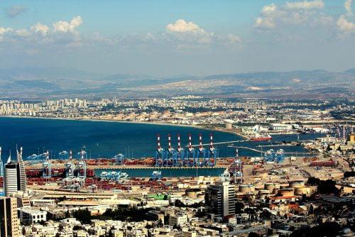 Le port de Haifa