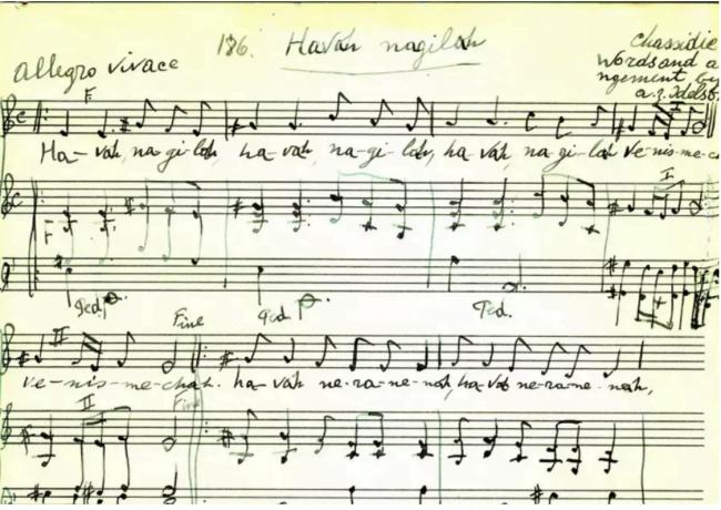 Naissance d'un hymne: Hava Naguila