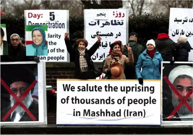 Des israéliens envoient des messages de soutien aux manifestants iraniens