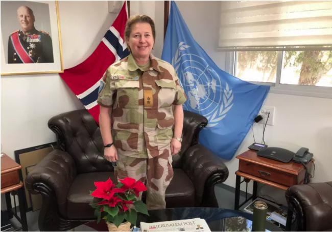 Cette femme occupe l'un des postes les plus difficiles au Moyen-Orient