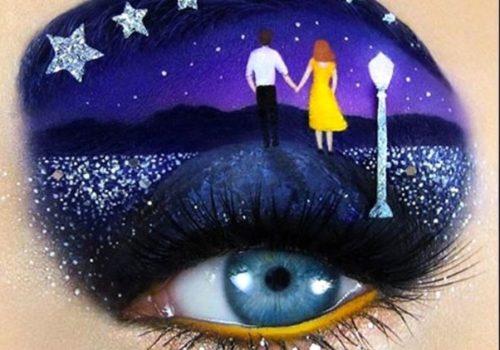 Les droits de douane sur les cosmétiques sont abolis: Création unique de l'artiste maquilleuse israélienne Tal Peleg. (Crédit photo: TAL PELEG)