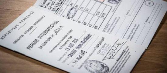 Un permis de conduire international