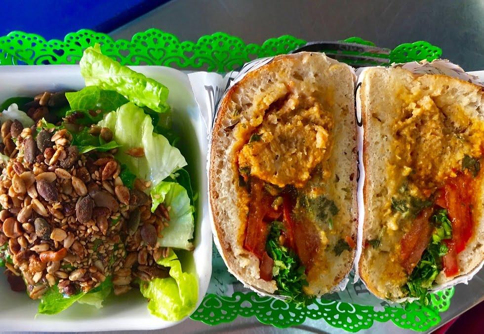Chichu sandwich israélien