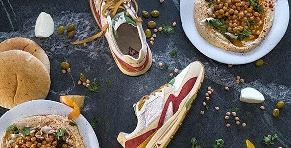 Israël: des sneakers au design inspiré du houmous