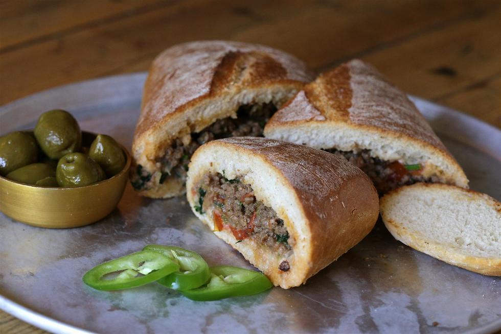 Edward sandwich israélien