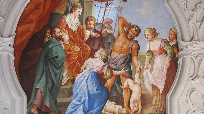 Le jugement du roi salomon