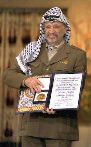 Prix nobel de la paix Arafat