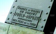 La Plaque en l'honneur d'Alphonse Fould.