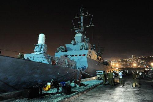 la première frappe directe sur un navire de guerre israélien depuis des décennies