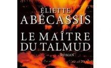 Eliette Abecassis Le Maître du Talmud