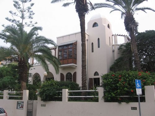 La maison Bialik était la maison du poète Hayyim Nachman Bialik de 1925 à 1933. Gellerj, Creative Commons
