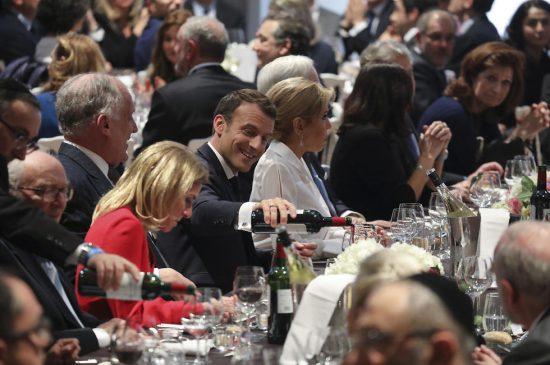 """Macron au repas annuel du CRIF. """"La France ne sera pas elle-même si les Juifs la quittent par peur"""""""
