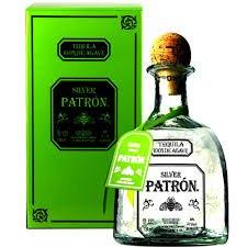 La tequila Patrón Silver