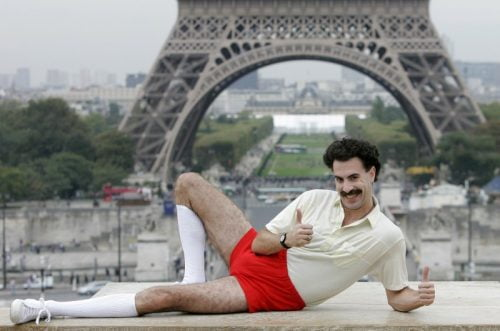 Sasha Baron Cohen alias Borat