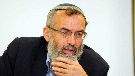 Rabbin David Stav, chef de l'organisation rabbinique Tzohar (Photo: Yossi Zeliger)