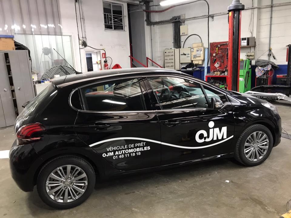véhicules de courtoisies de OJM Automobiles