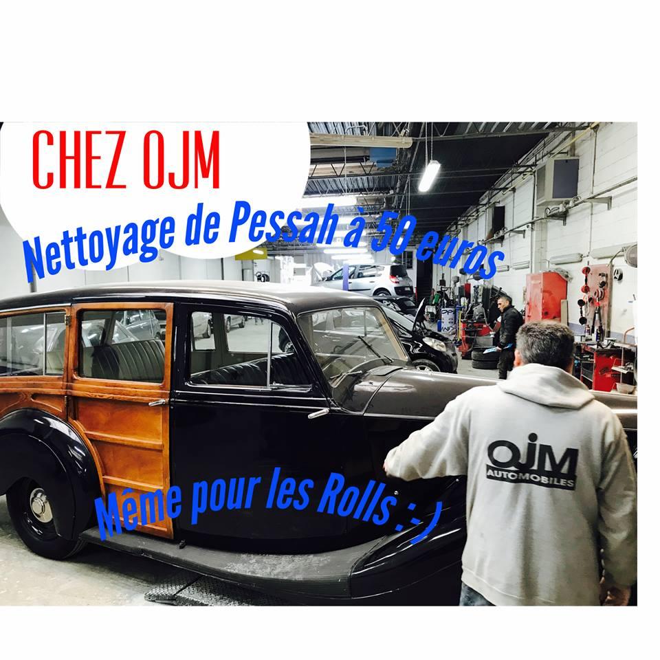 OJM l'incroyable garage avec objectif zéro dépense pour ses clients