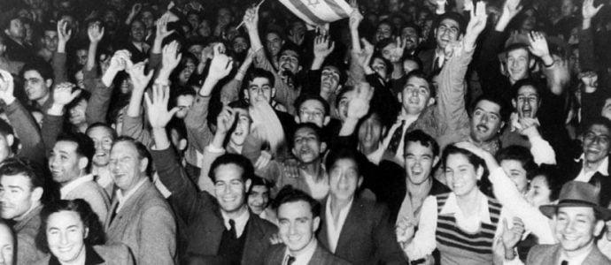 Re naissance de l'état d'Israël en mai 1948