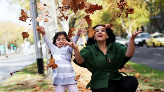 Rozana Salawhi et sa mère, Maysa Abu Ghannam. Photo gracieuseté du Projet Rozana