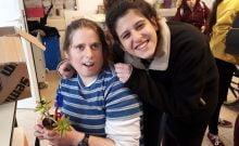 Les lycéens israéliens apprennent des leçons de vie de leurs pairs handicapés