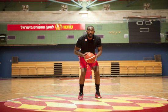 Amar'e Stoudemire, ex star de la NBA, à Jérusalem