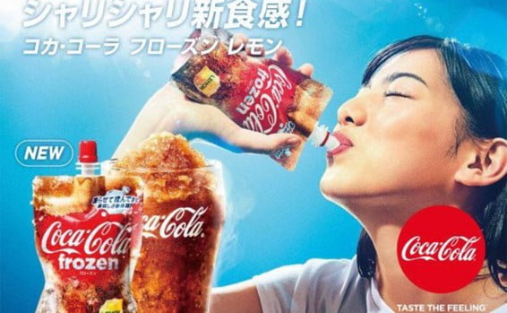 Coca Cola lance sa boisson phare version granité
