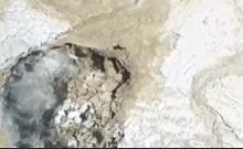 Israël: des gouffres se forment au bord de la mer Morte